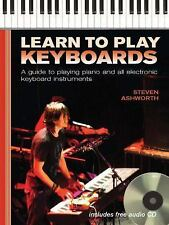 LEARN TO PLAY KEYBOARDS Include audio CD - Internal Wire-O Bound Hardcover NEW