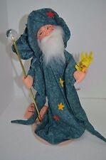 """Annalee Spellbinder Wizard, Magician LARGE 18""""  Doll Figurine New Tags 1997"""