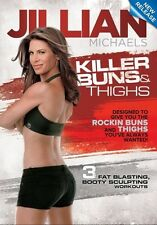Cardio Toning EXERCISE DVD - Jillian Michaels Killer Buns and Thighs 3 workouts