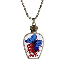 butterfly necklace Christmas gifts cousin niece daughter girls stocking filler