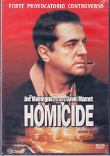 Homicide Joe Mantegna David Mamet Dvd Sigillato