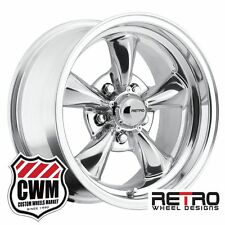 """15 inch 15x8"""" Wheels Polished Rims for Olds Cutlass 1964-1981"""