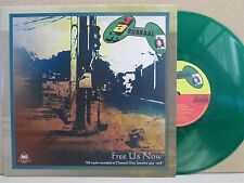 Gideon Jah Rubbaal and The Revolutionaries- Free Us Now GREEN VINYL LP Dub Roots