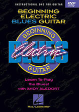 Beginning Electric Blues Guitar Learn to Play Beginner Lesson Music DVD