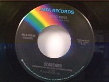 """STARGARD """"DISCO RUFUS / THEME SONG FROM WHICH WAY IS UP"""" 45"""