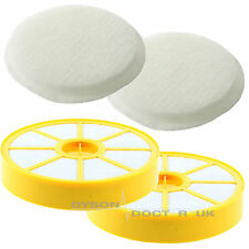 2 x Washable Pre & Post Motor Filter Pad Kit Non-HEPA For Dyson DC14, DC14i