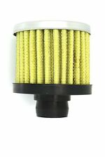 Universal Mini Oil Filter Universal Air Breather Performance 12mm Yellow
