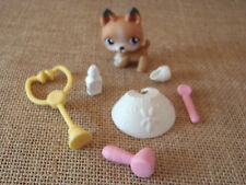 Littlest Pet Shop LPS Lot German Shepard Sheperd #112 Get Better Center 5-38