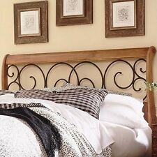 Fashion Bed Dunhill Spindle Headboard in Oak-King