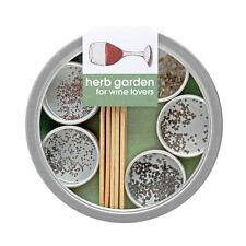Potting Shed Organic Herbs Wine Lover's Garden Seeds Gift DIY Beginners Grow Kit