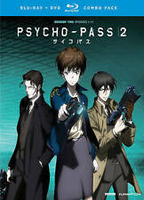 Psycho-Pass: Season Two (Blu-ray/DVD, 2016, 4-Disc Set)