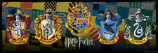 Harry Potter - Crests 1000 Piece Puzzle Jigsaw Puzzle - 12 x 36