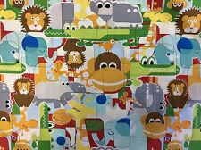 BUNGLE JUNGLE #39500-11-MULTI FOR TIM & BECK FOR MODA- BY THE YARD