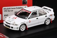 Mitsubishi Lancer Evolution **Test Car** - HPI #8543 1/43