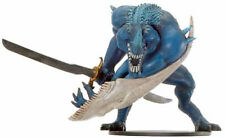 D&D Miniatures War of the Dragon Queen #26 - Bluespawn Godslayer *HUGE UNCOMMON*