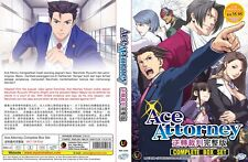Ace Attorney (Chapter 1 - 24 End) ~ 2-DVD SET ~ English Subtitle ~ Japan Anime