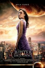 Jupiter Ascending (2015) Movie Poster (24x36) - Mila Kunis, Jupiter Jones NEW v2
