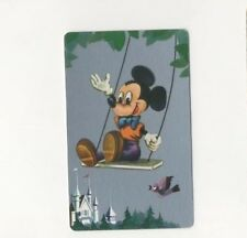 Playing Swap Cards 1 Japanese  Nintendo 1960's Disney Mickey Mouse 3/4 Size J198