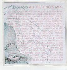 (ER554) Wild Beasts, All The King's Men - 2009 DJ CD