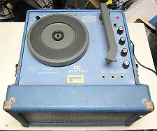 GHV ELECTRONICS MODEL RP125M TURNTABLE GOOD CONDITION VINTAGE SCHOOL SURPLUS