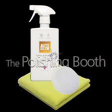 Autoglym Vinyl & Rubber Care NEW 500ml with Microfibre and Microfibre Applicator