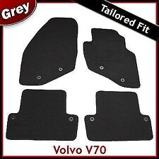 Volvo V70 Mk2 2000-2007 Fully Tailored Fitted Carpet Car Floor Mats GREY