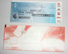LOT 2 TICKETS DE MATCH SPECIAL LE MANS - MARSEILLE  // 2007 - 2009