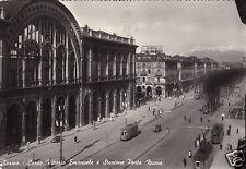 Torino-Corso Vittorio Emanuele e Stazione Porta Nuova-f.g.