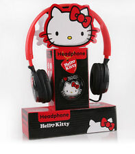 New Hello kitty universal headset with mic Rock headphones for 3.5mm devices