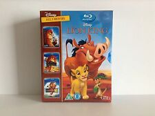 The Lion King trilogy 1-3 [Blu-ray] *NEW*