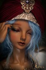 Limited Edition BJD Fairyland MiniFee Rohan Head with Limited Edition Makeup tan