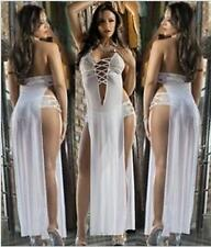 European and American sexy white dress sexy lady skirt the temptation Size M w0
