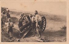 MAROC MOROCCO SCENES ET TYPES DU MAROC campagne de 1925 pièces de 75 en action
