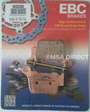 KTM XC 300 2011-2013 EBC Sinterizzato POSTERIORE DI GARA Pastiglie Freni MXS368