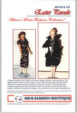 Vintage Repro Pattern EASTER PARADE  4 Barbie Candi Fashion Royalty APF by MFB