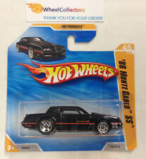 '86 Monte Carlo #45 * Black on Short Card * 2010 Hot Wheels * N73