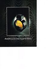 PUBLICITE  1978   AZZARO  parfum dédié à la grace des femmes