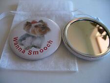 Pocket Purse Mirror Yorkshire Terrier