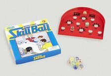 SKILL BALL Glass Marbles vtg style box retro tin metal Marble Game Board New WOW