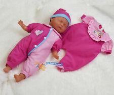 """18"""" New Born Sleeping Baby Doll Soft Bodied & Vinyl With 2 Set of Clothes"""