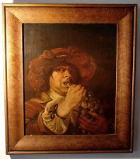 Barock Potraet der Traubenesser Öl Holz Städt. Museum Aachen