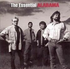*AS-IS* The Essential Alabama by Alabama (CD, May-2005, 2 Discs, BMG)