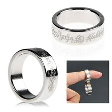 1x Magic Strong Magnetic Ring Magnet Coin Finger Magician Trick Props Show Tool
