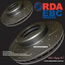 Holden Brake discs front HQ HJ HX HZ WB RDA Slotted & Grooved  1971 to 1984 14D
