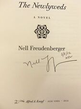 "Newlyweds by Nell Freudenberger ""Signed, Dated & NYC"" 2012 HB 1ST/1ST Brand New!"