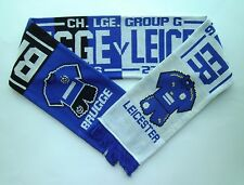 LEICESTER CITY FC SCARF - Champions League Football Memorabilia / Scarves