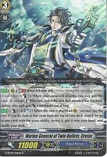 CARDFIGHT VANGUARD: MARINE GENERAL OF TWIN BULLETS, CRETAS - G-BT09/041EN R RARE