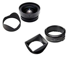 RICOH GW-3 Wide Angle Conversion Lens 21mm bundles Hood / Adapter GH-3