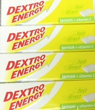 4x Dextro Energy Lemon 47g