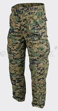 Woodland Digital US MARINES USMC ARMY MARPAT MCCUU Hose pants Large Long